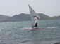 Windsurfing Mustang in action