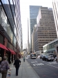 Street in Manhattan in the afternoon
